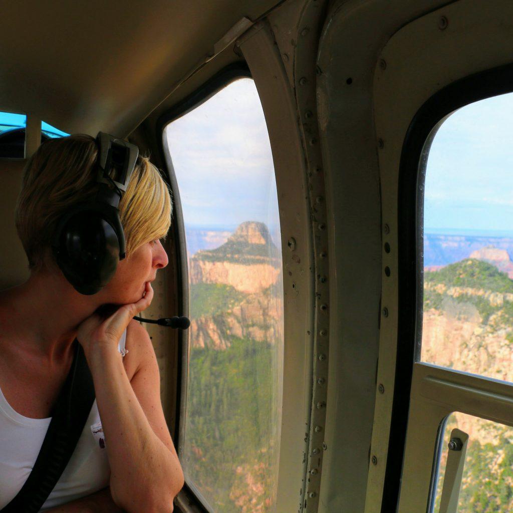 welk tijdstip helikoptervlucht grand canyon