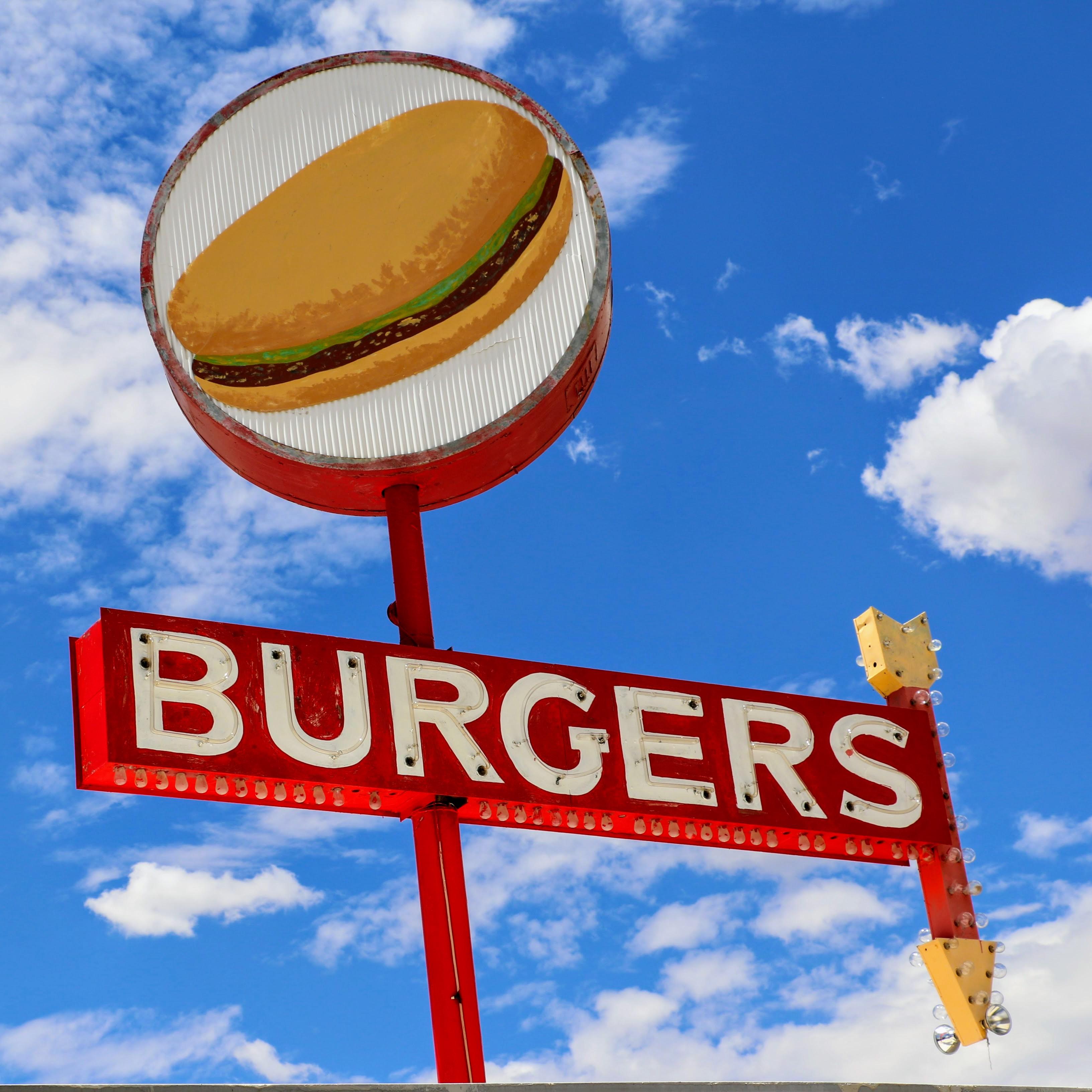 De beste hamburger van Seligman Amerika