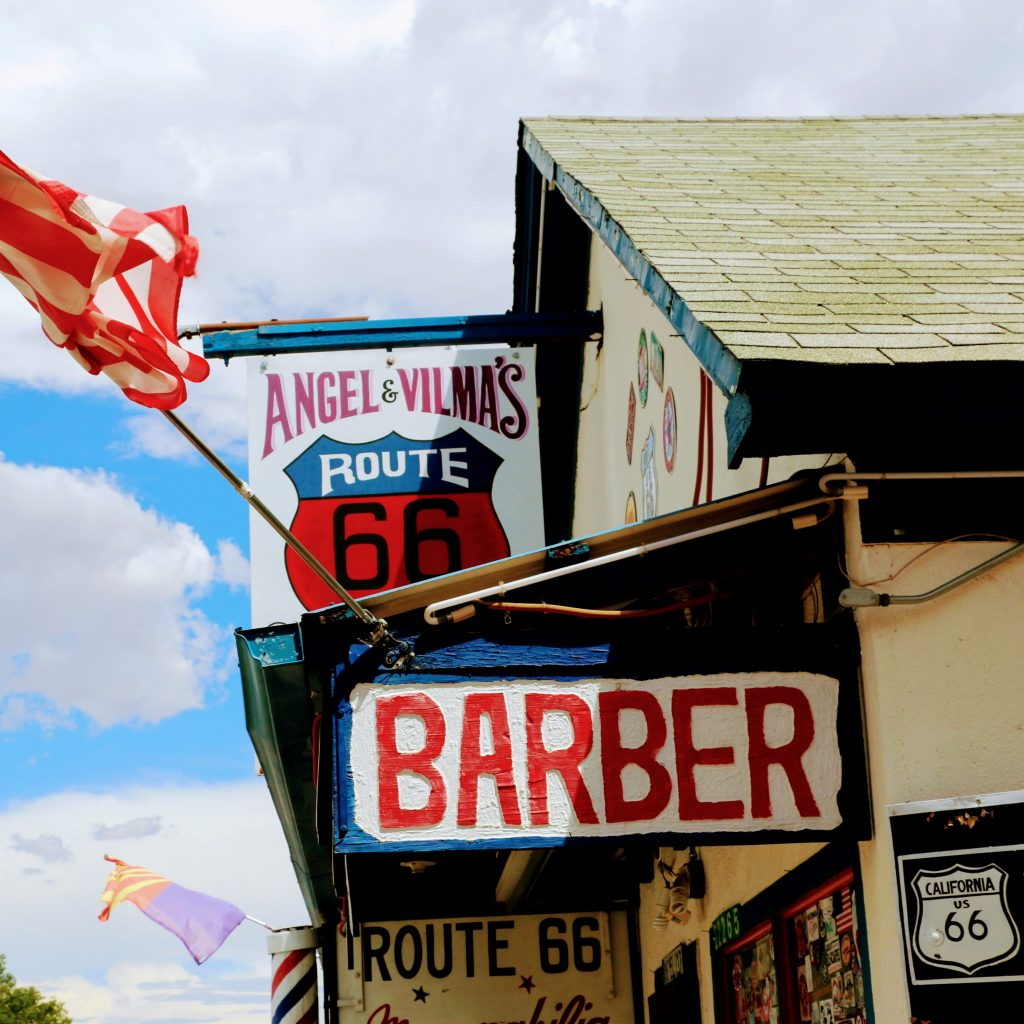 The Angel of Route 66
