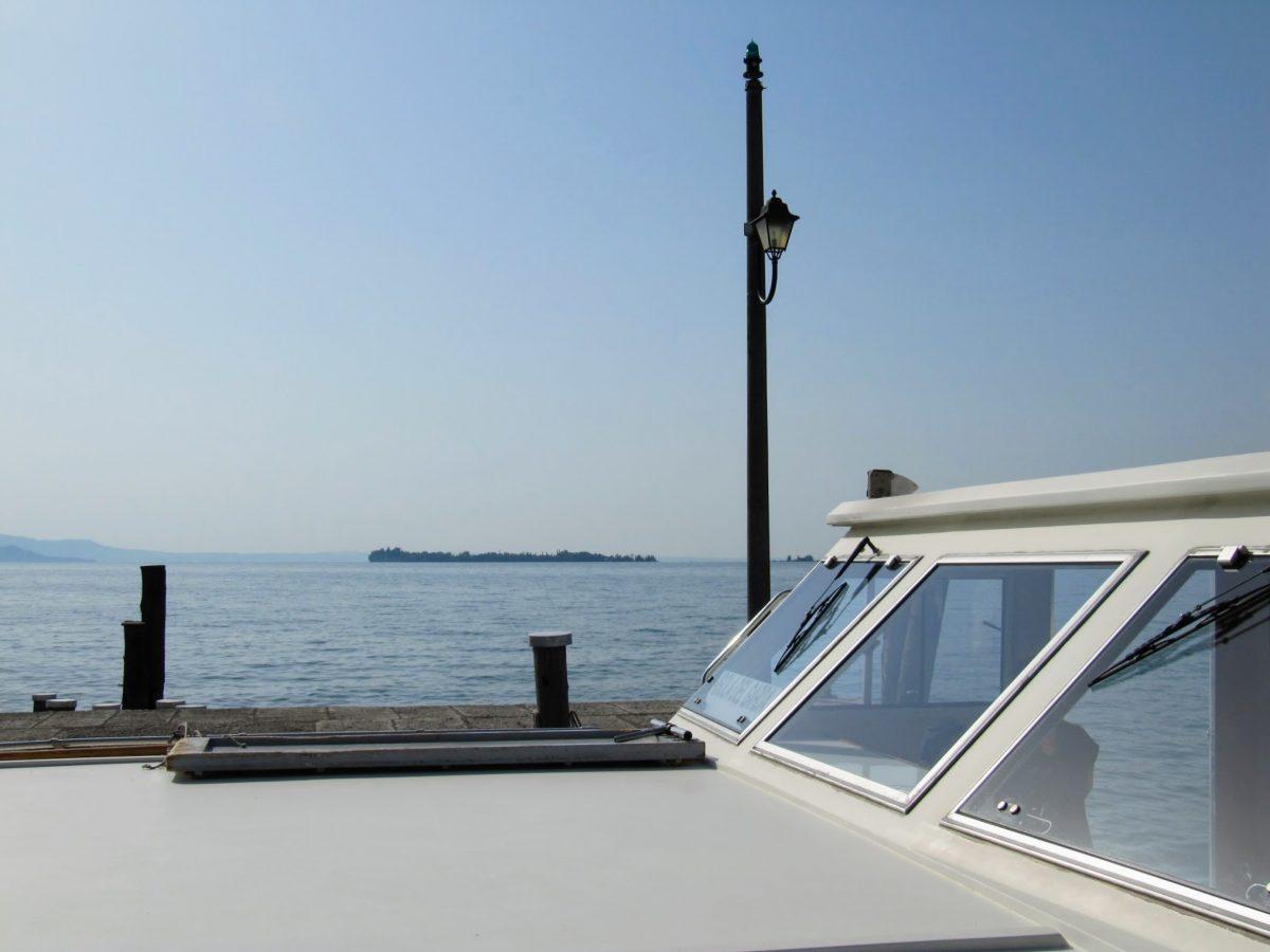 Boot naar Isola del Garda