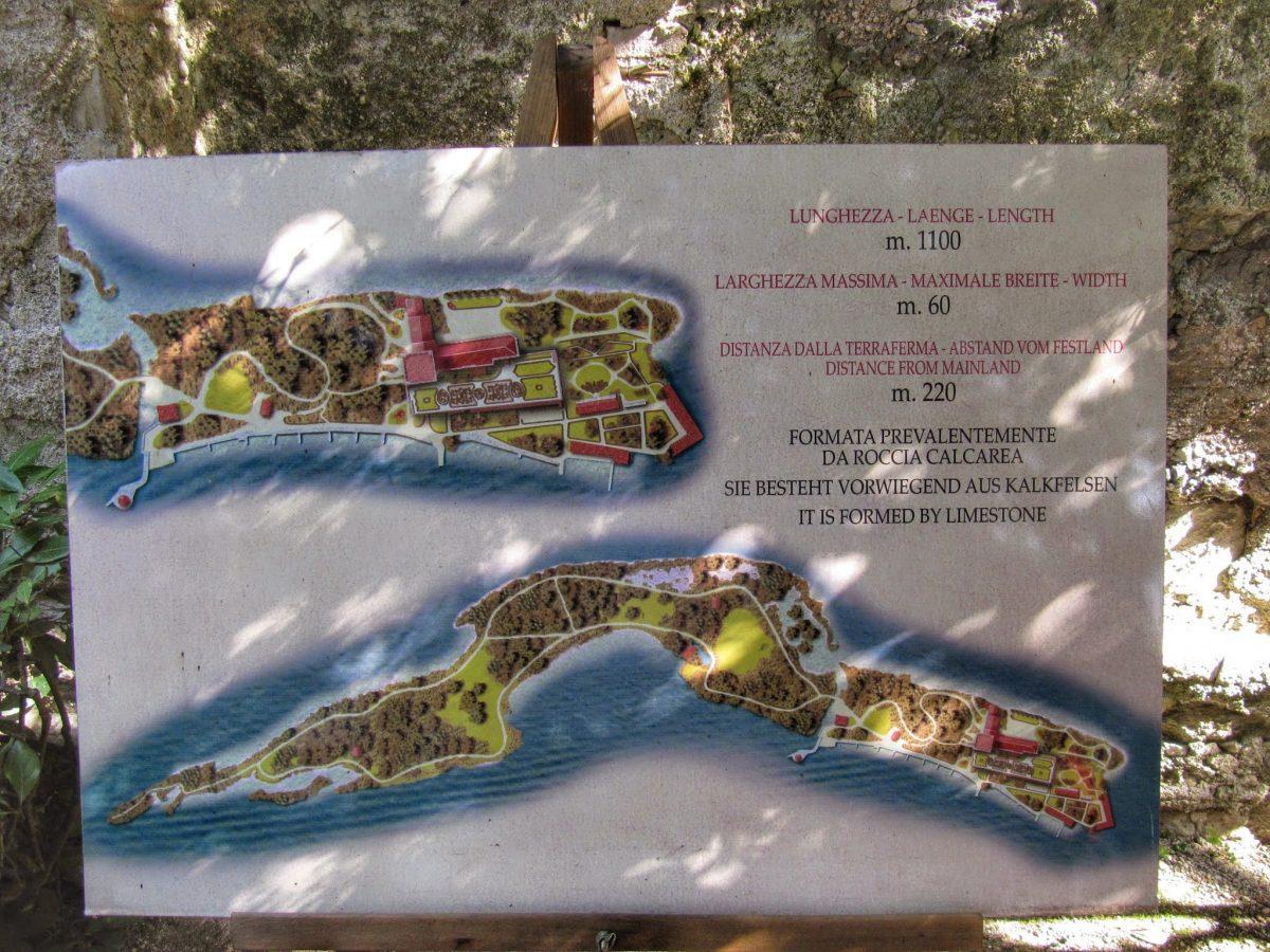 Plattegrond Isola del Garda