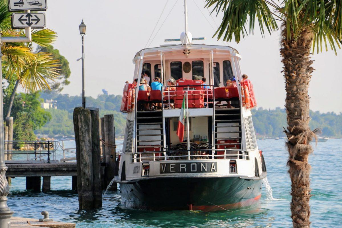 Veerboot in Lazise