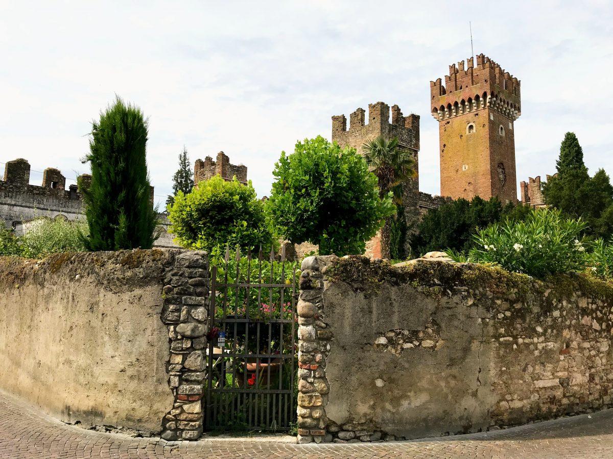 Het kasteel van Lazise