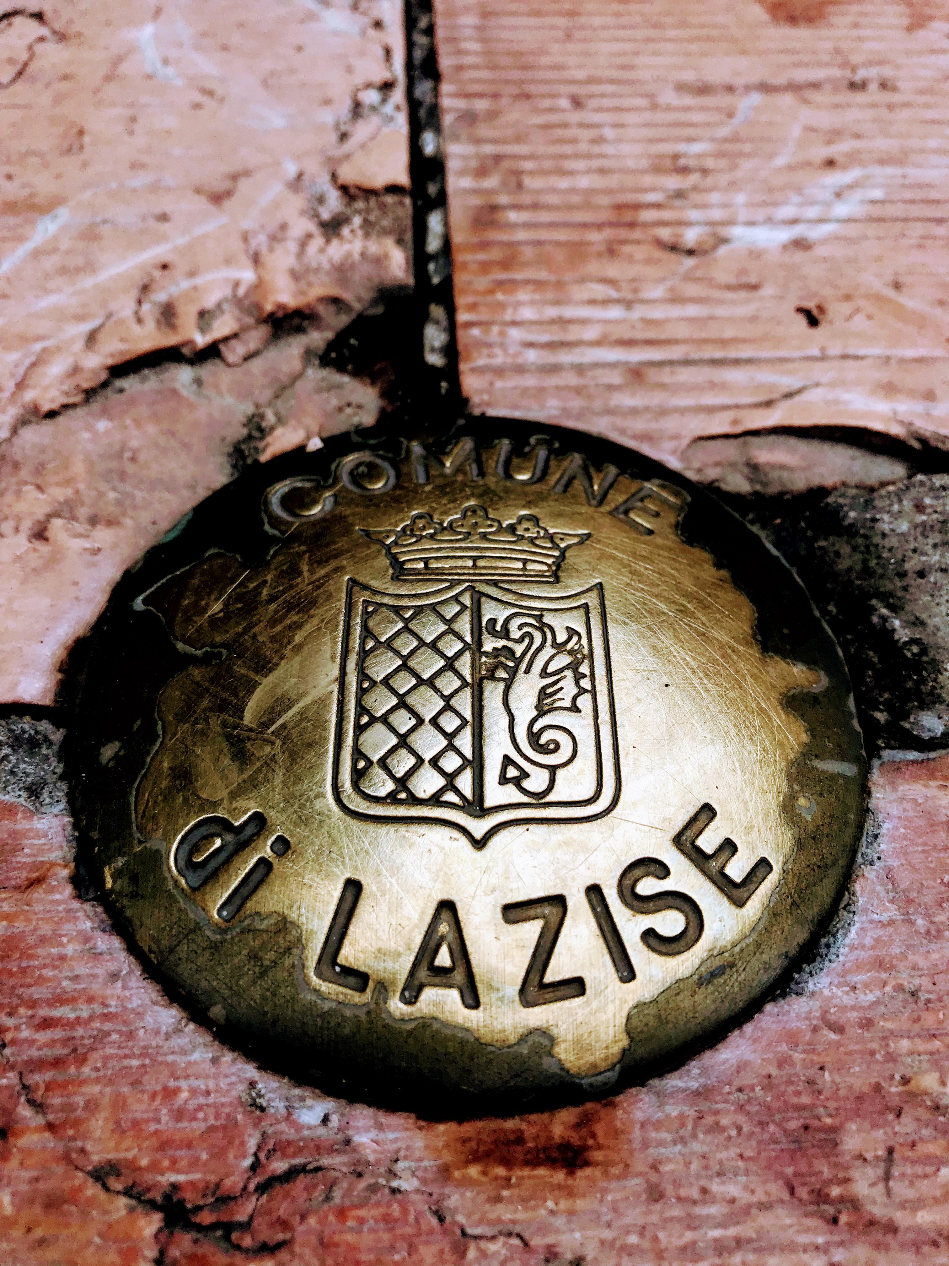 Comune di Lazise grenspaal