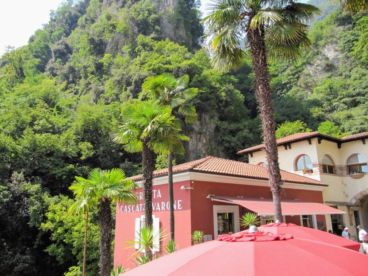 Waterval park Riva del Garda