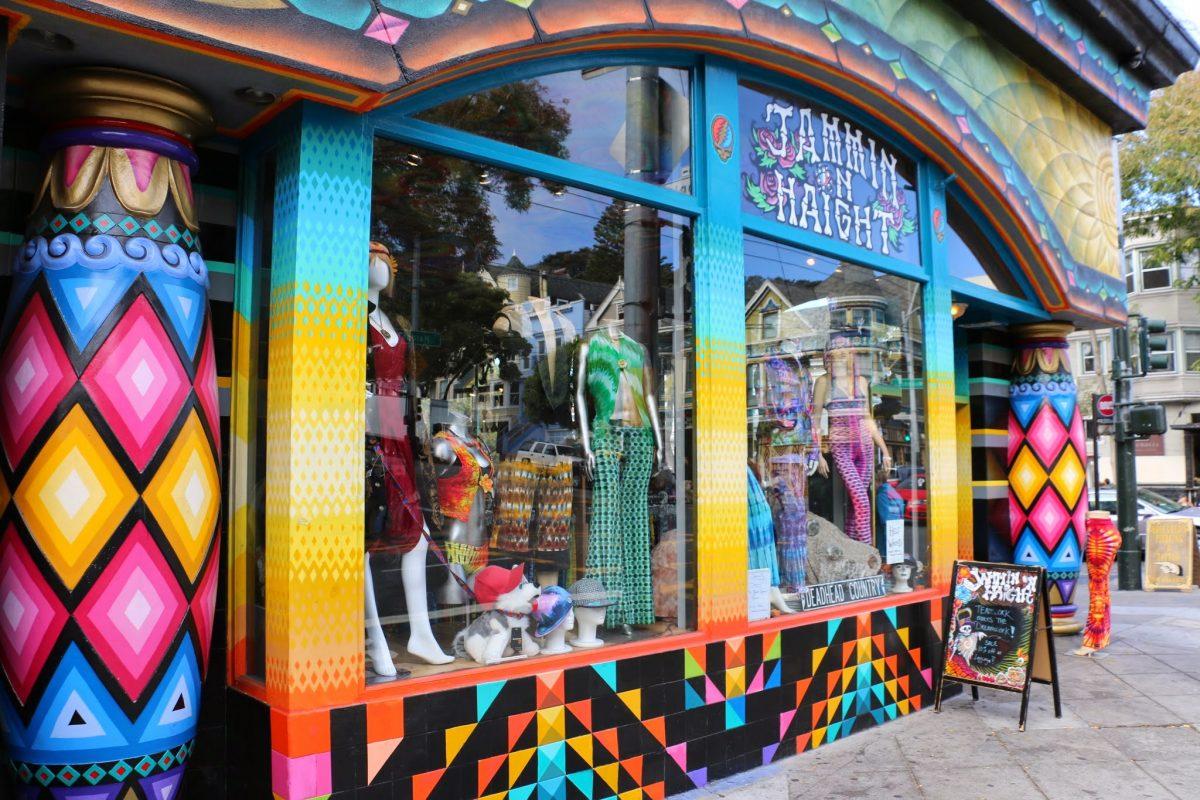 Jammin Haight - Haight-Ashbury in San Francisco
