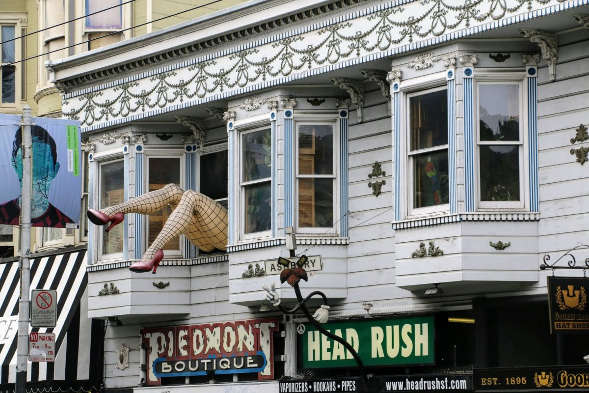 Haight-Ashbury in San Francisco