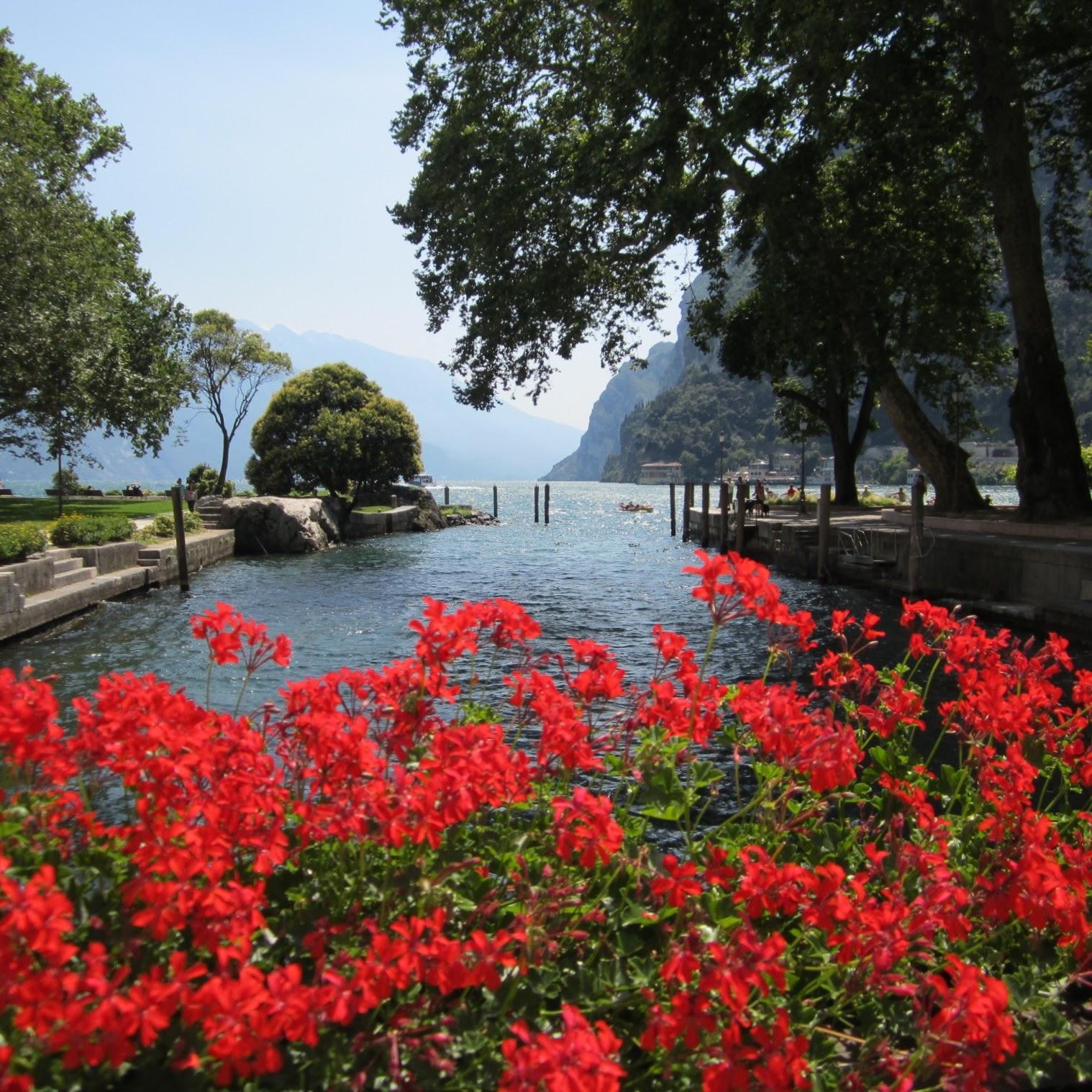 Het stadje Riva del Garda in beeld