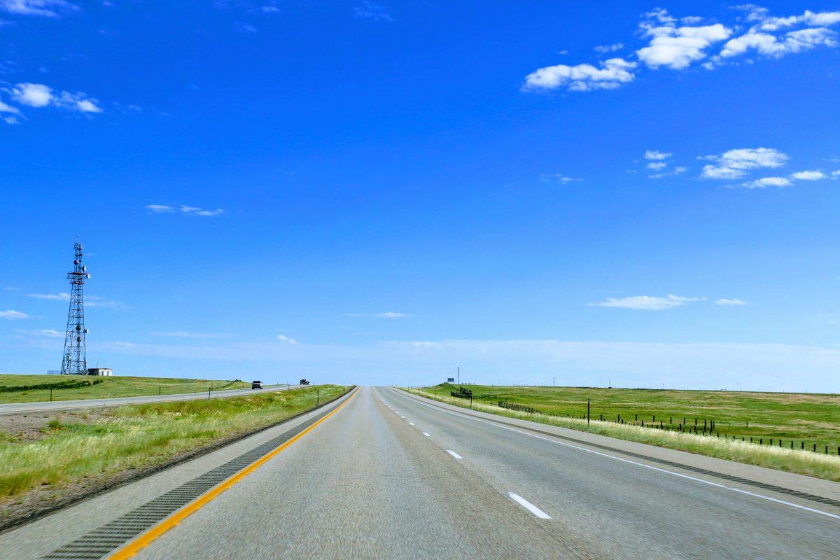 Route van Denver naar Yellowstone