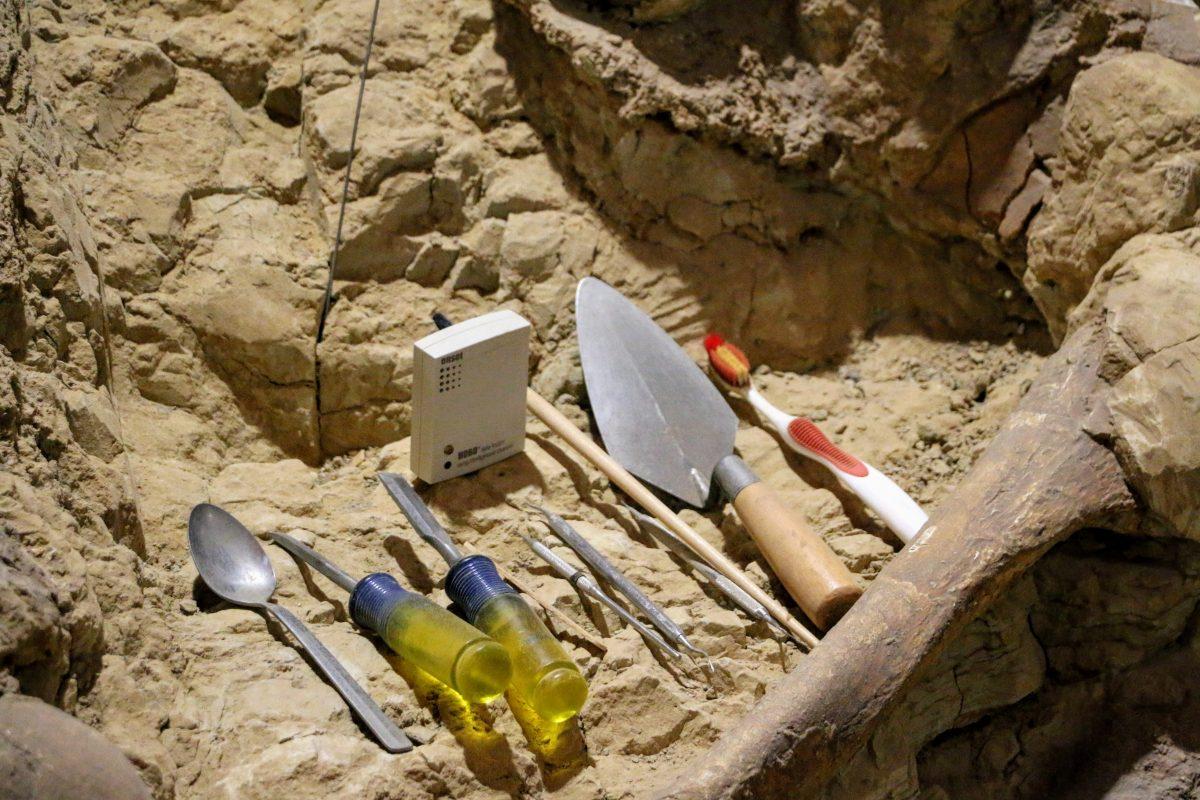 Materiaal archeoloog