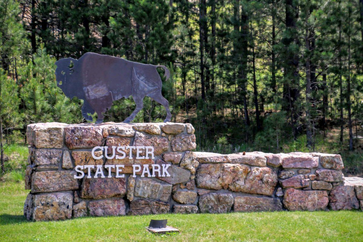 Ingang Custer State Park