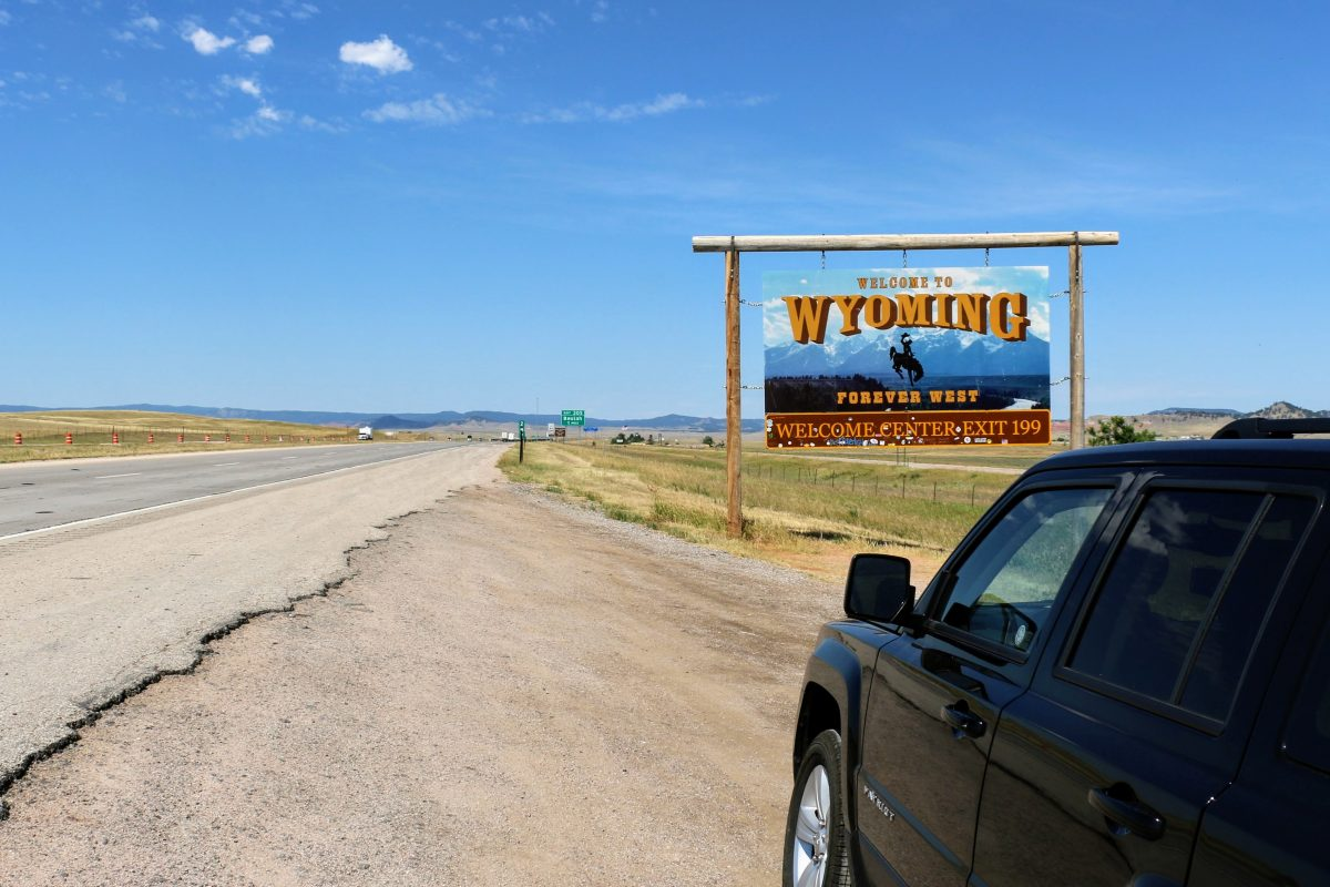 Welcome to Wyoming - forever west