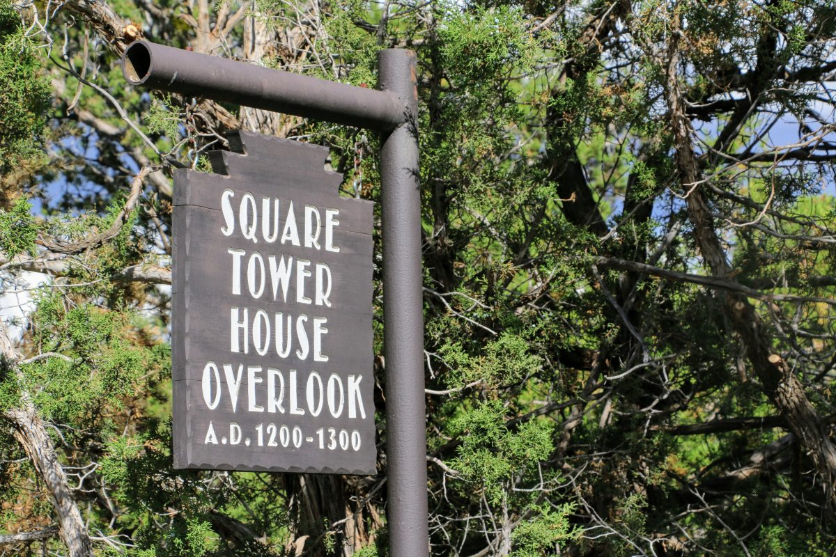 Square Tower House Overlook