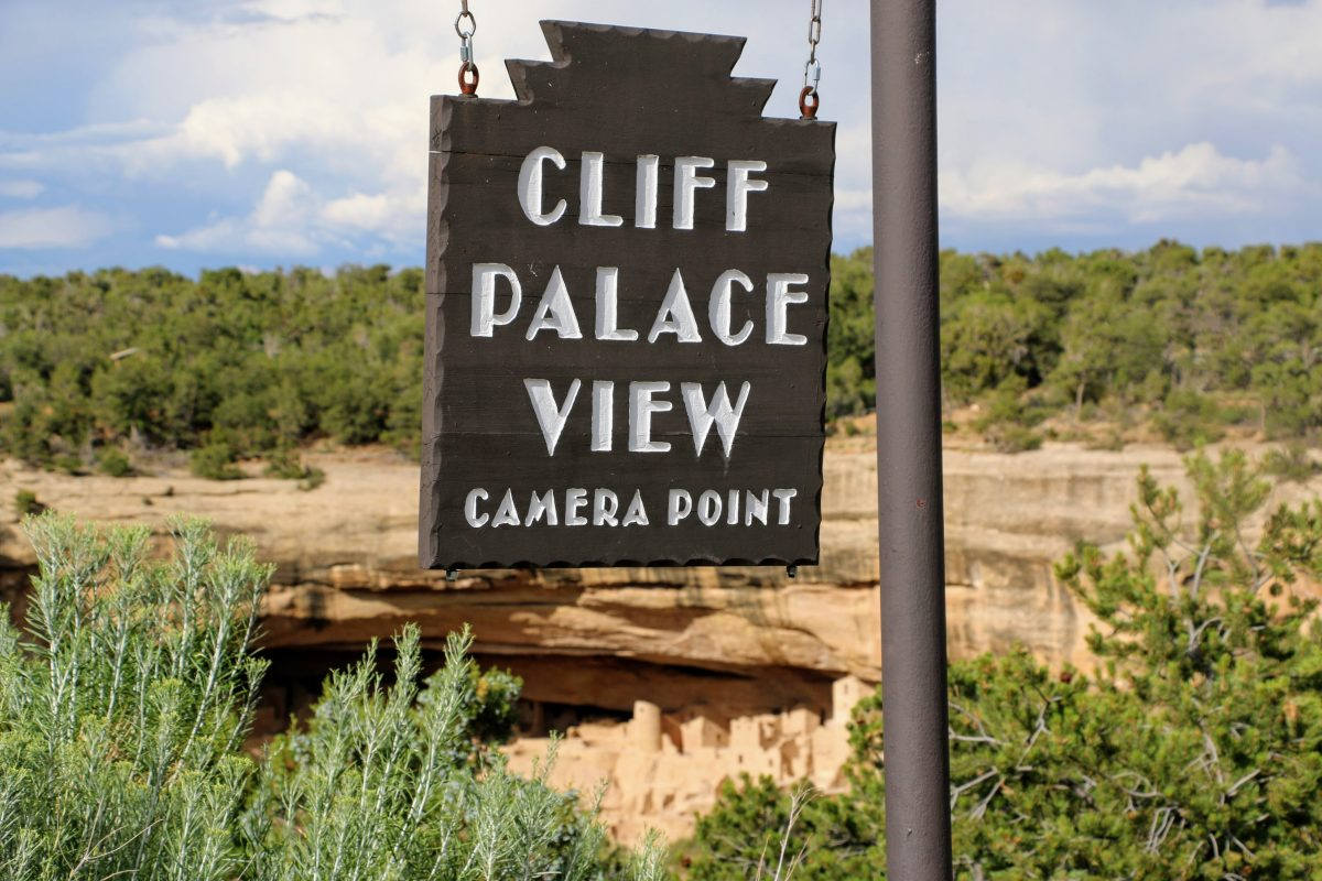 Cliff Palace View Mesa Verde