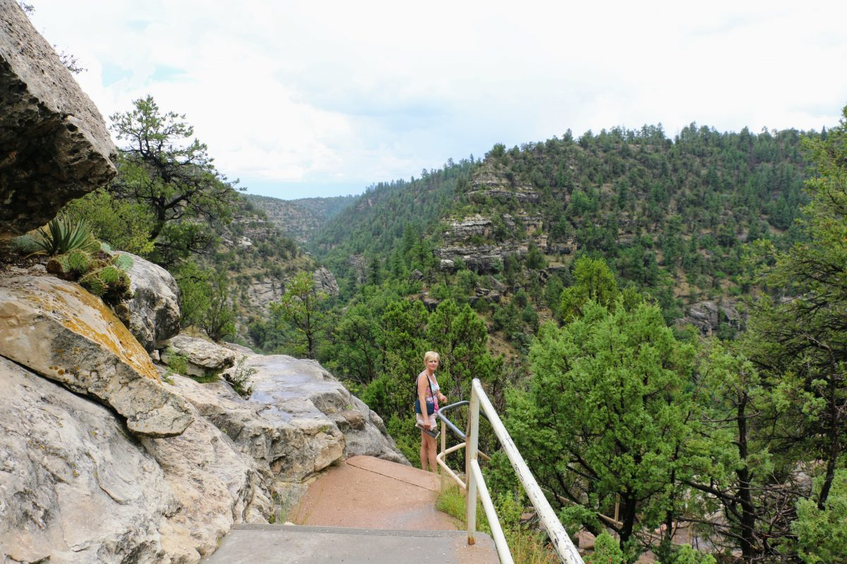 Walnut Canyon wandeling