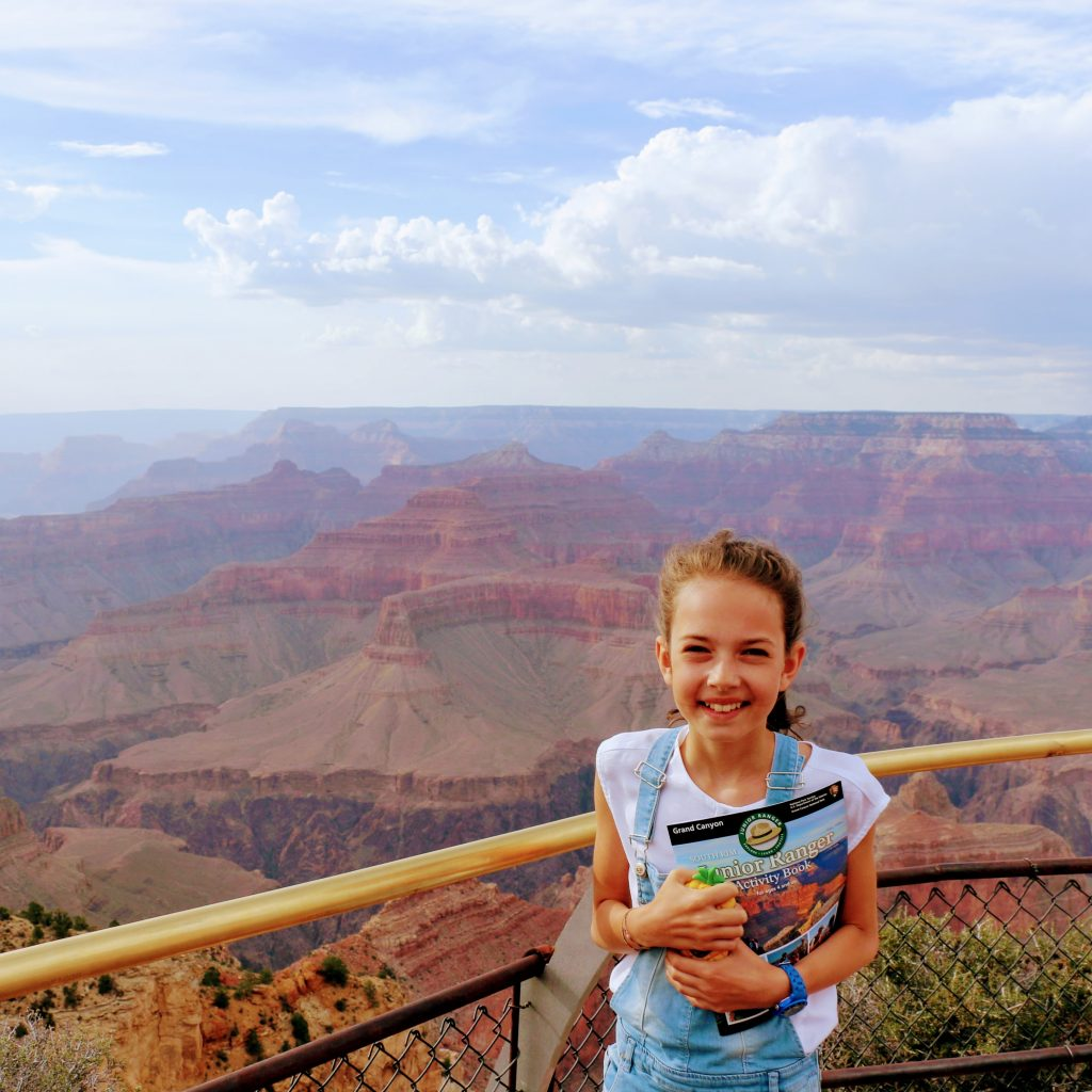 Grand Canyon met kind