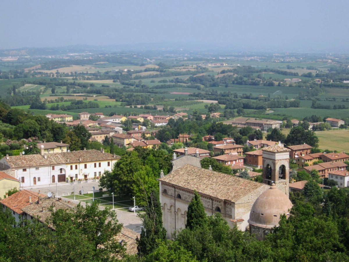 Uitzicht over Solferino
