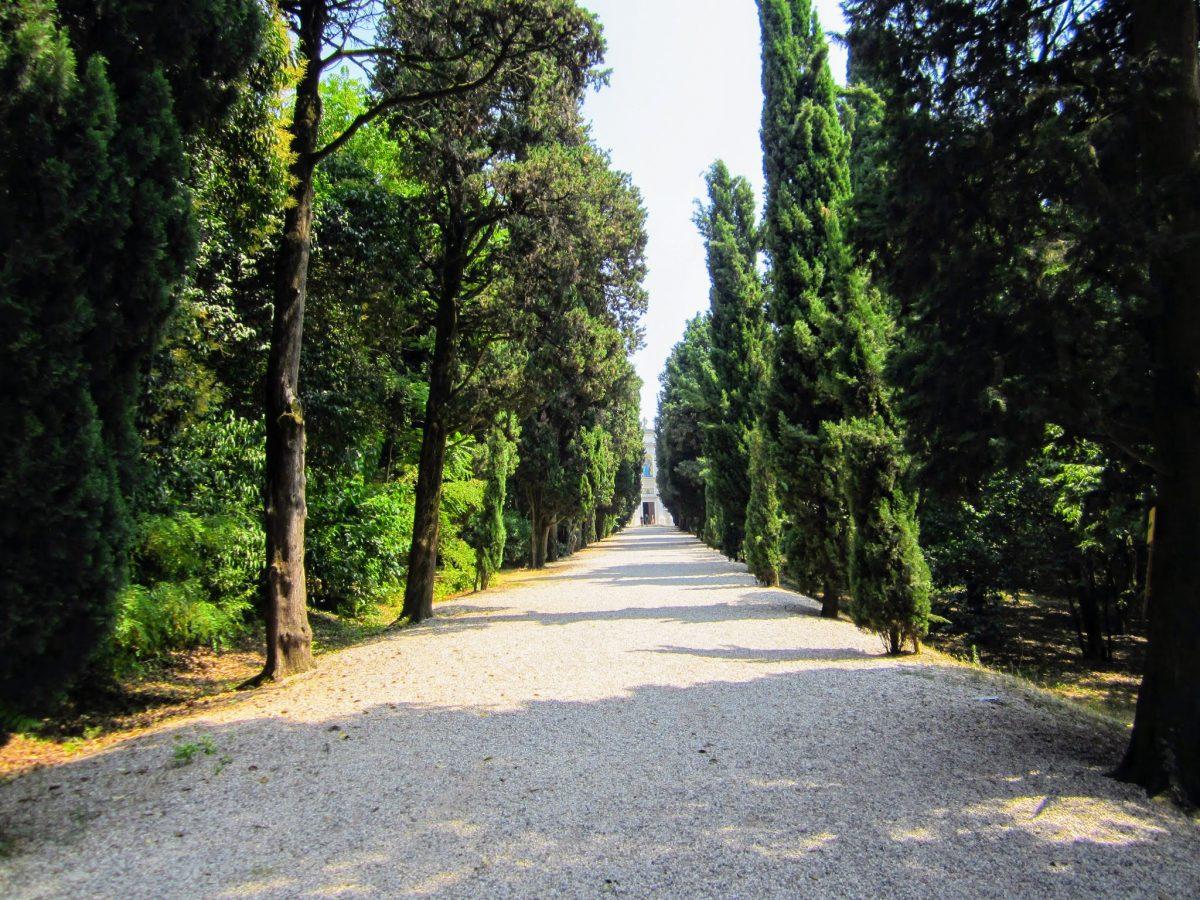 Wandelpad naar het knekelhuis van Solferino