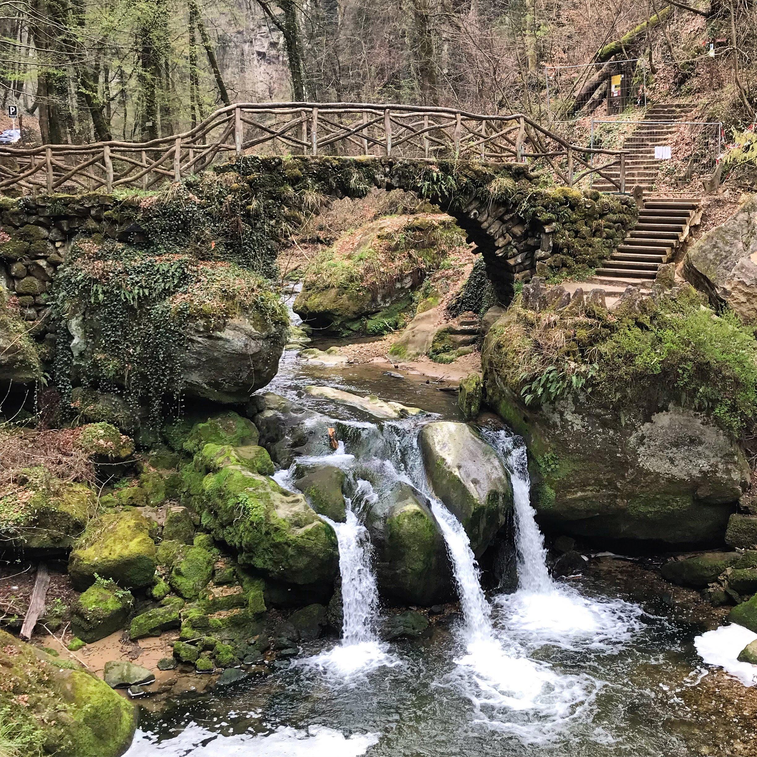 Schiessentümpel waterval