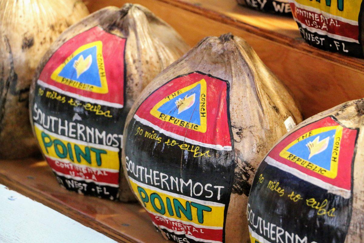 Southernmost Point kokosnoot