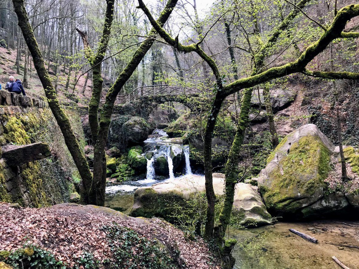 Schiessentümpel waterval, Müllerthal, Luxemburg
