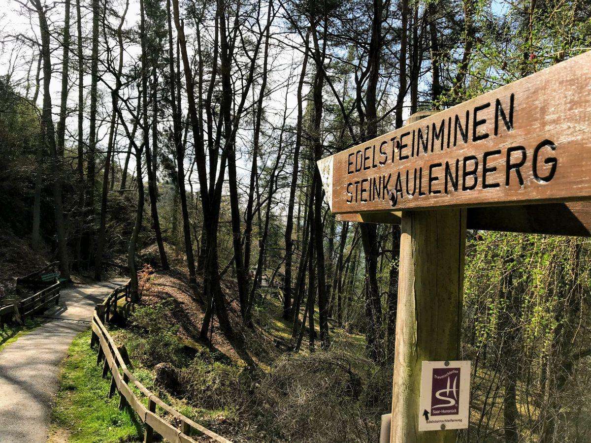 Edelsteinminen Steinkaulbergen