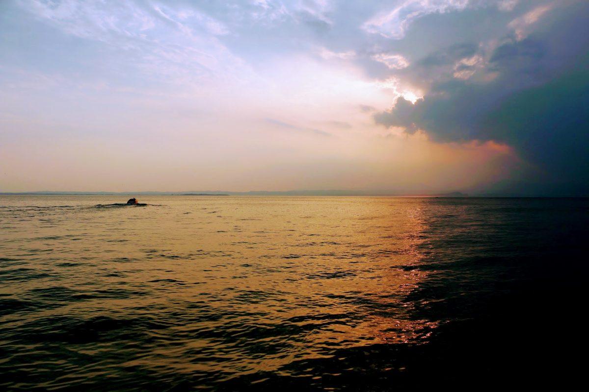 Wolken boven het Gardameer