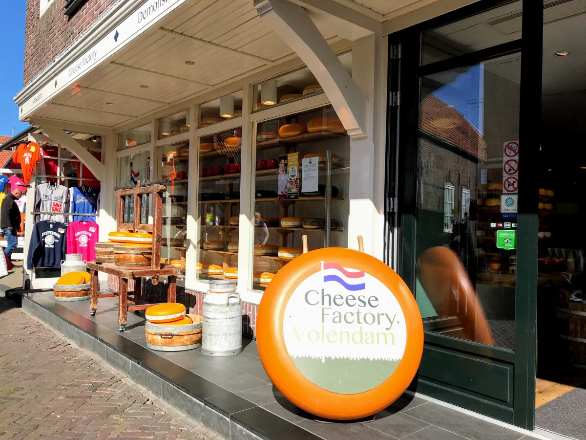 Cheese Factory Volendam, Haven, Volendam, Nederland
