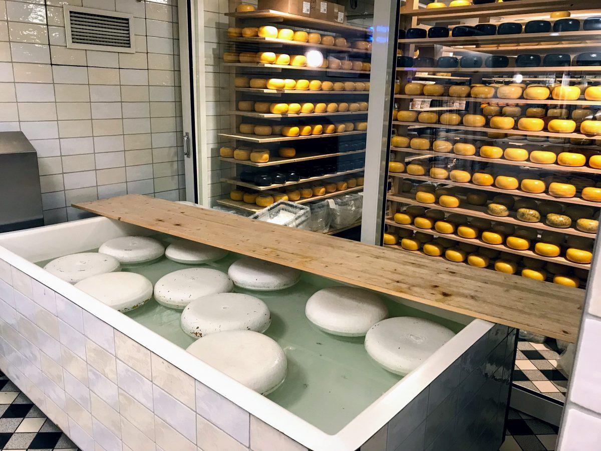 kaas maken in Volendam Nederland