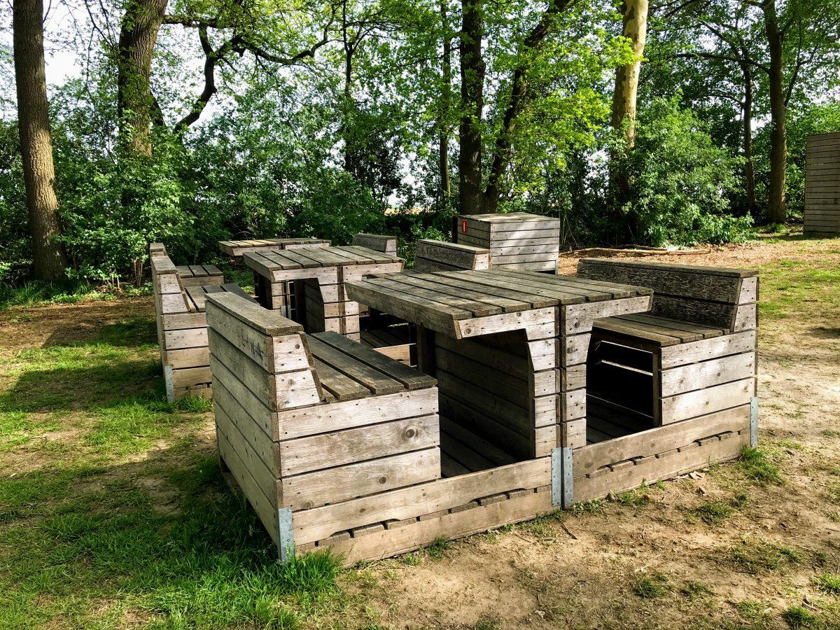 Picknickbanken tranendreef Borgloon