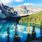 Wandelen bij Moraine Lake