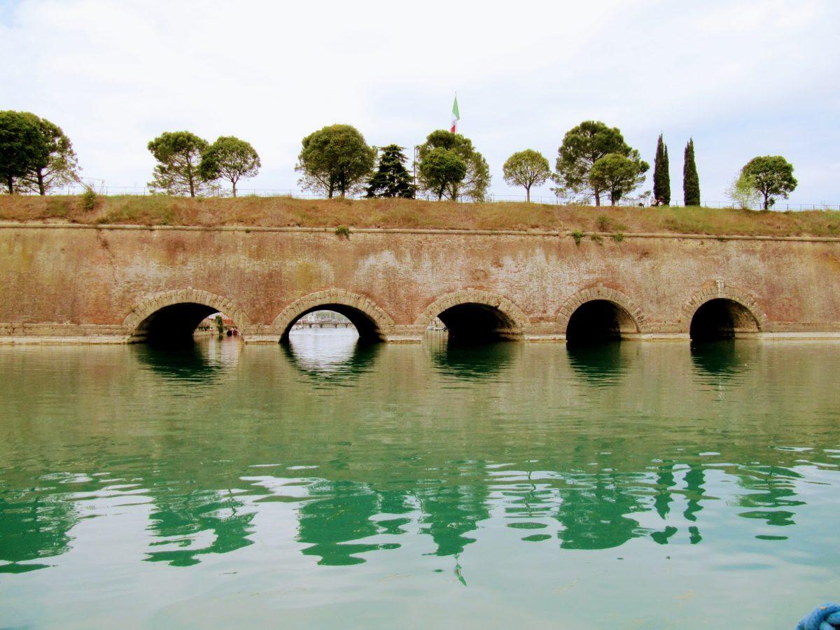 vijfhoekige vestiging Peschiera del Garda