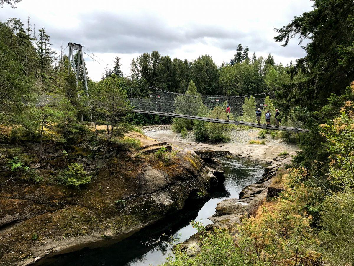 Top Bridge Park hangbrug Canada