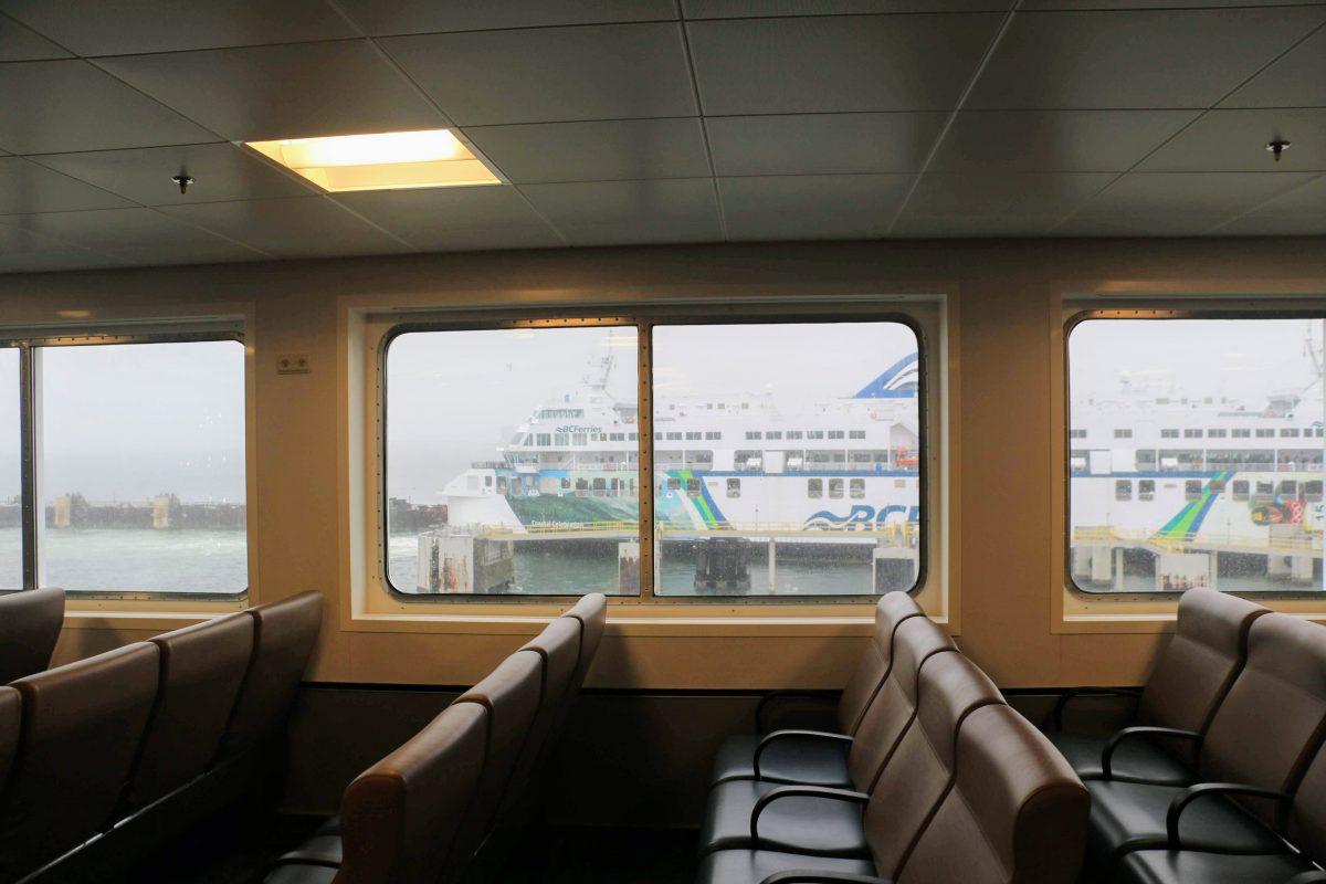 Overzet naar Vancouver Island