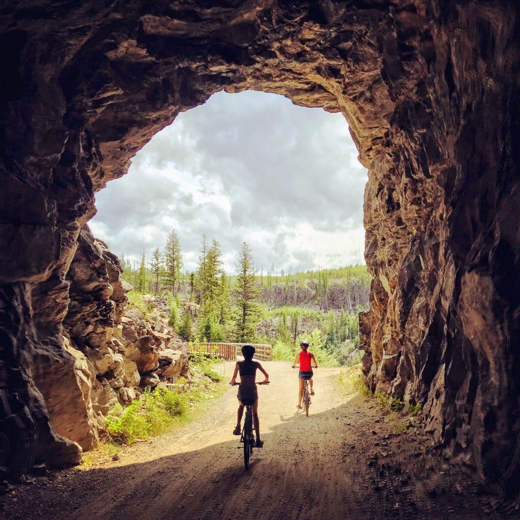 Myra Canyon fietsen