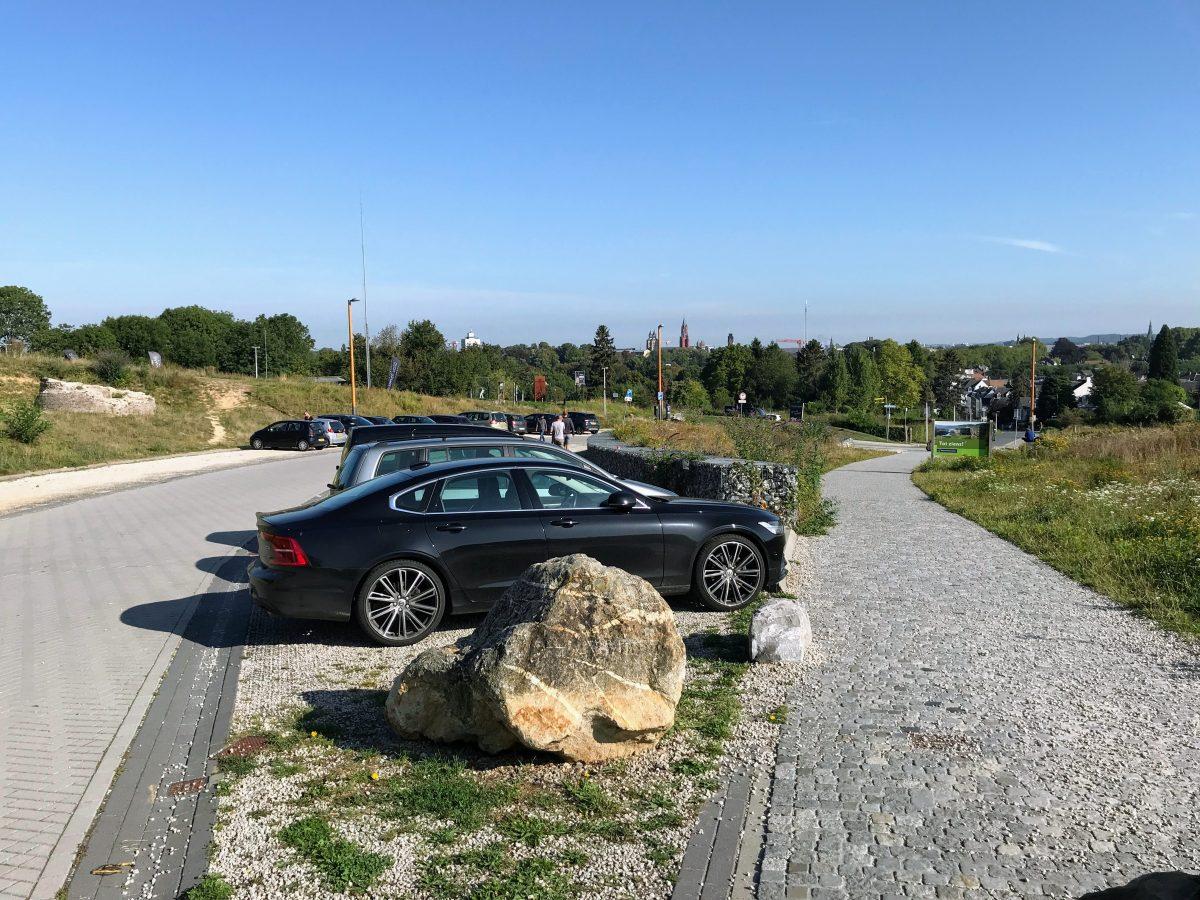 Parking oog van Sint Pieter