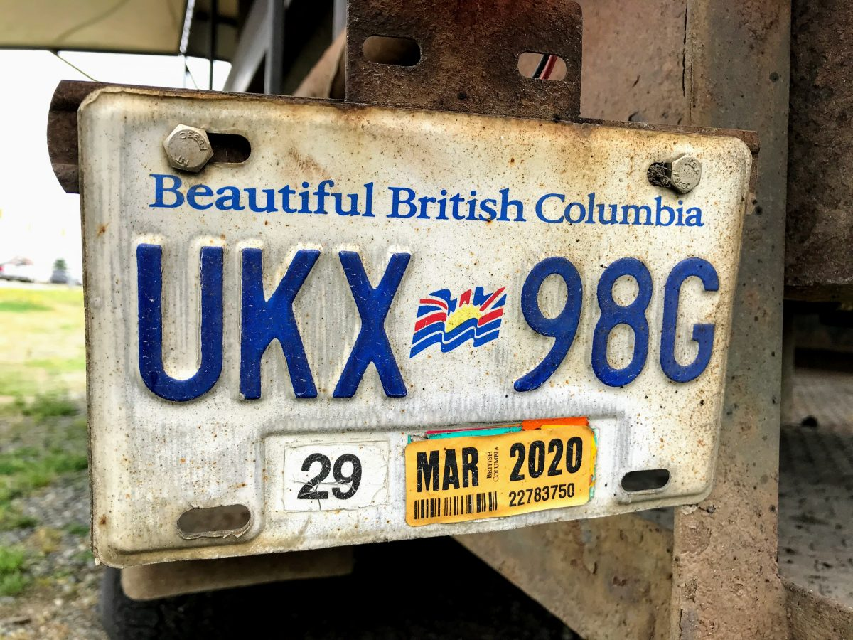 Beautiful British Columbia nummerplaat