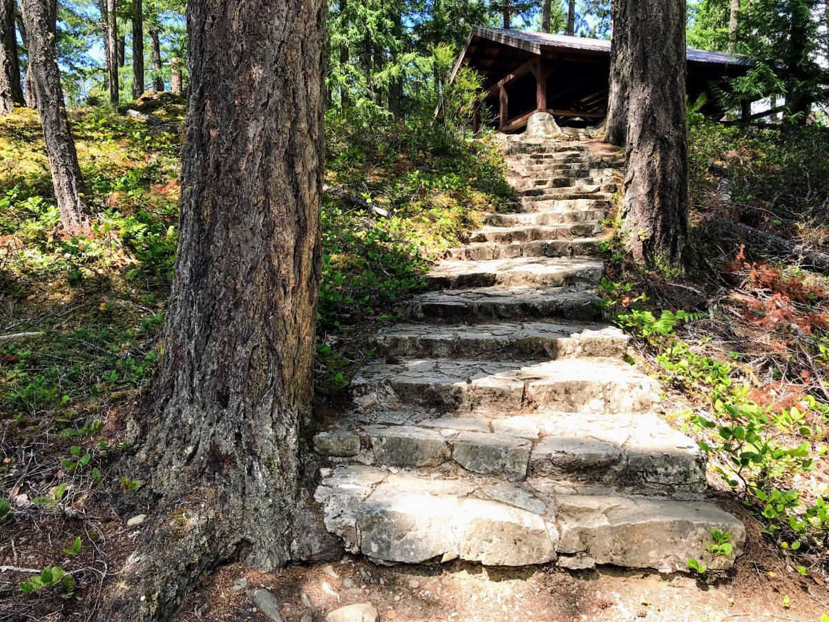 Upper Falls - Little Qualicum Falls Provincial Park