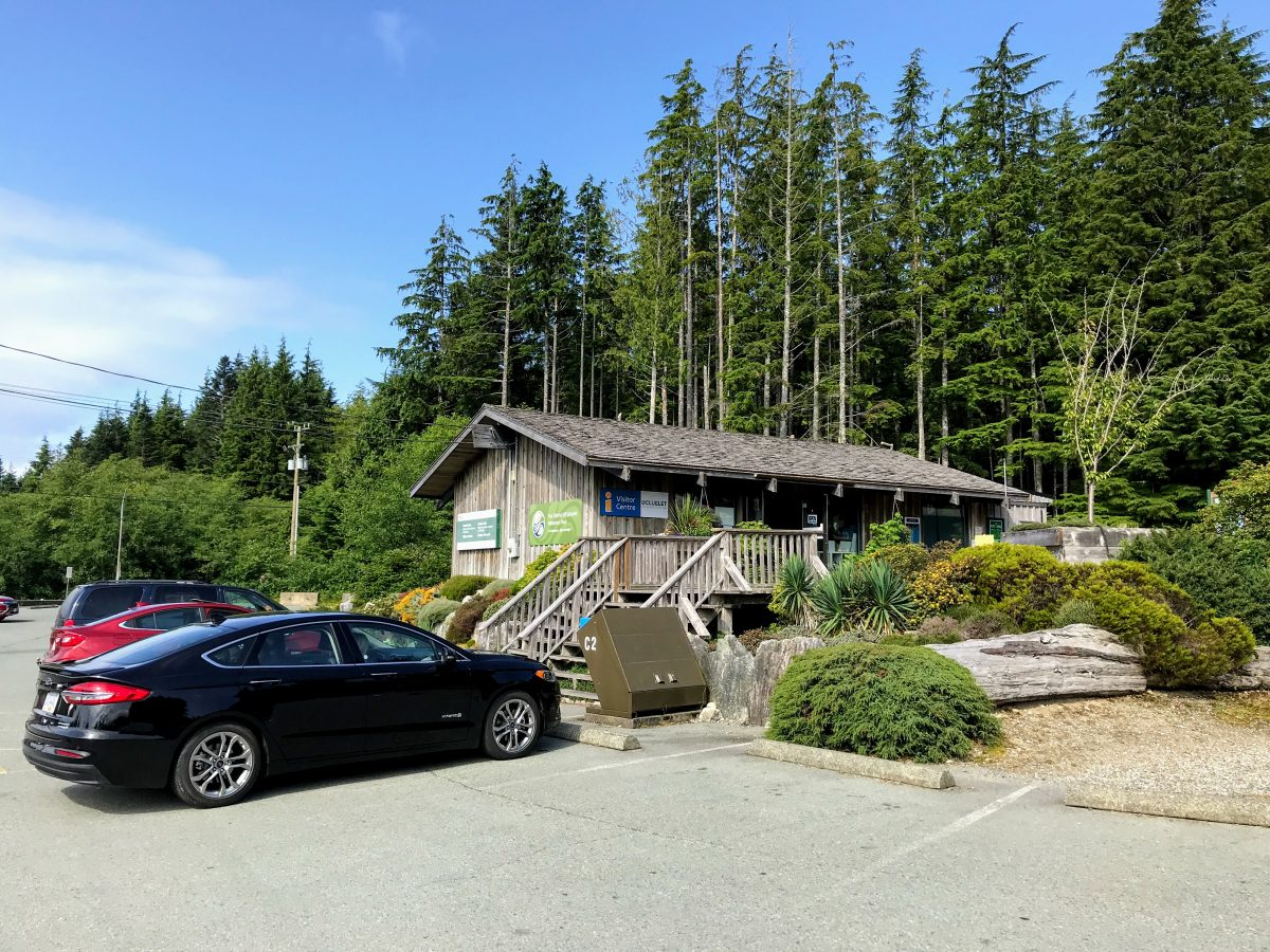 Pacific Rim Visitor Centre parking