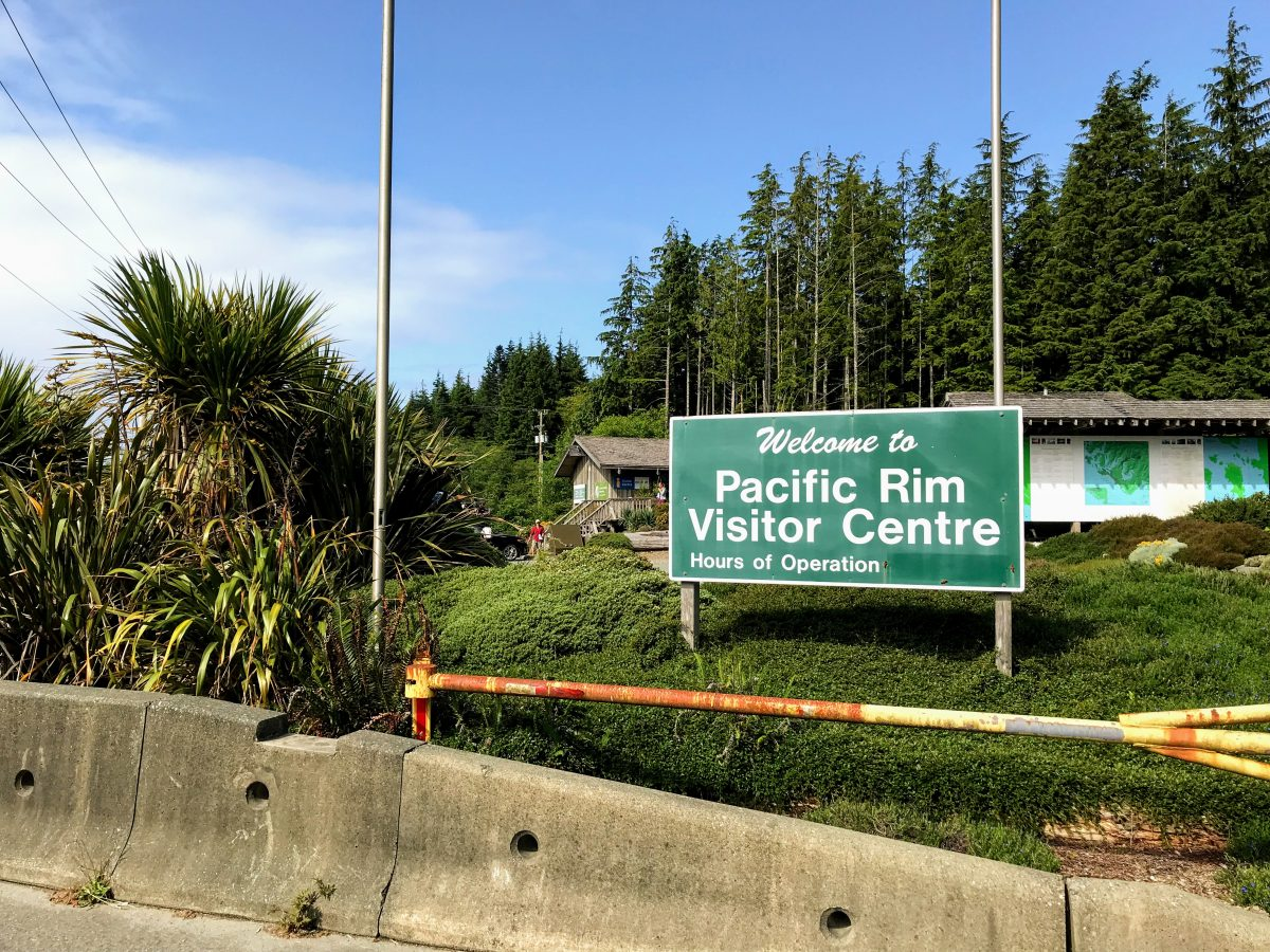 Pacific Rim Visitor Centre, Pacific Rim Highway, Ucluelet, Brits-Columbia, Canada