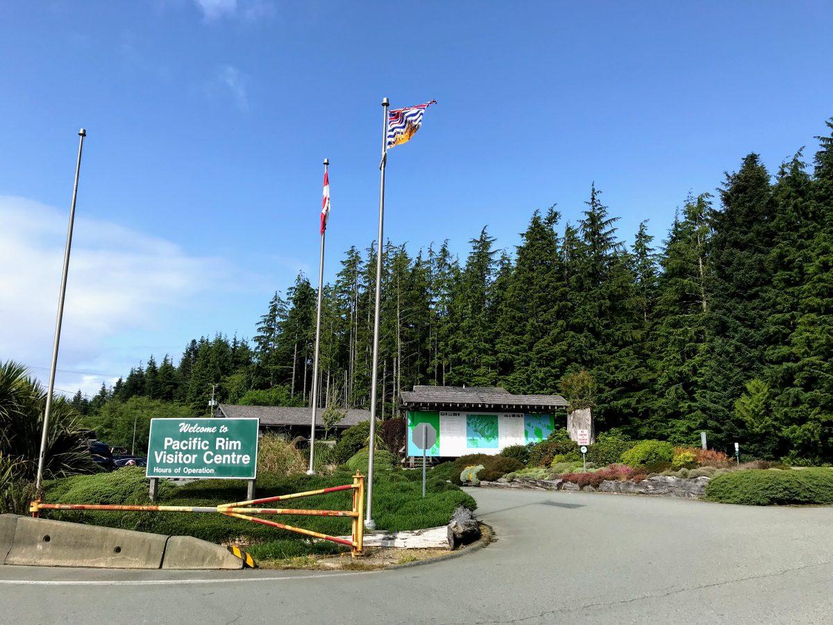 Reisverslag Tofino - Pacific Rim Visitor Centre