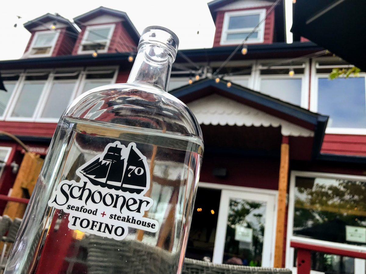 Schooner Seafood + Steakhouse bottle