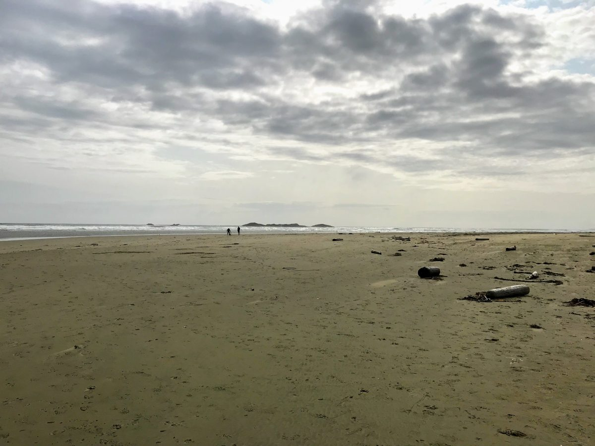 Strandwandeling Vancouver Island