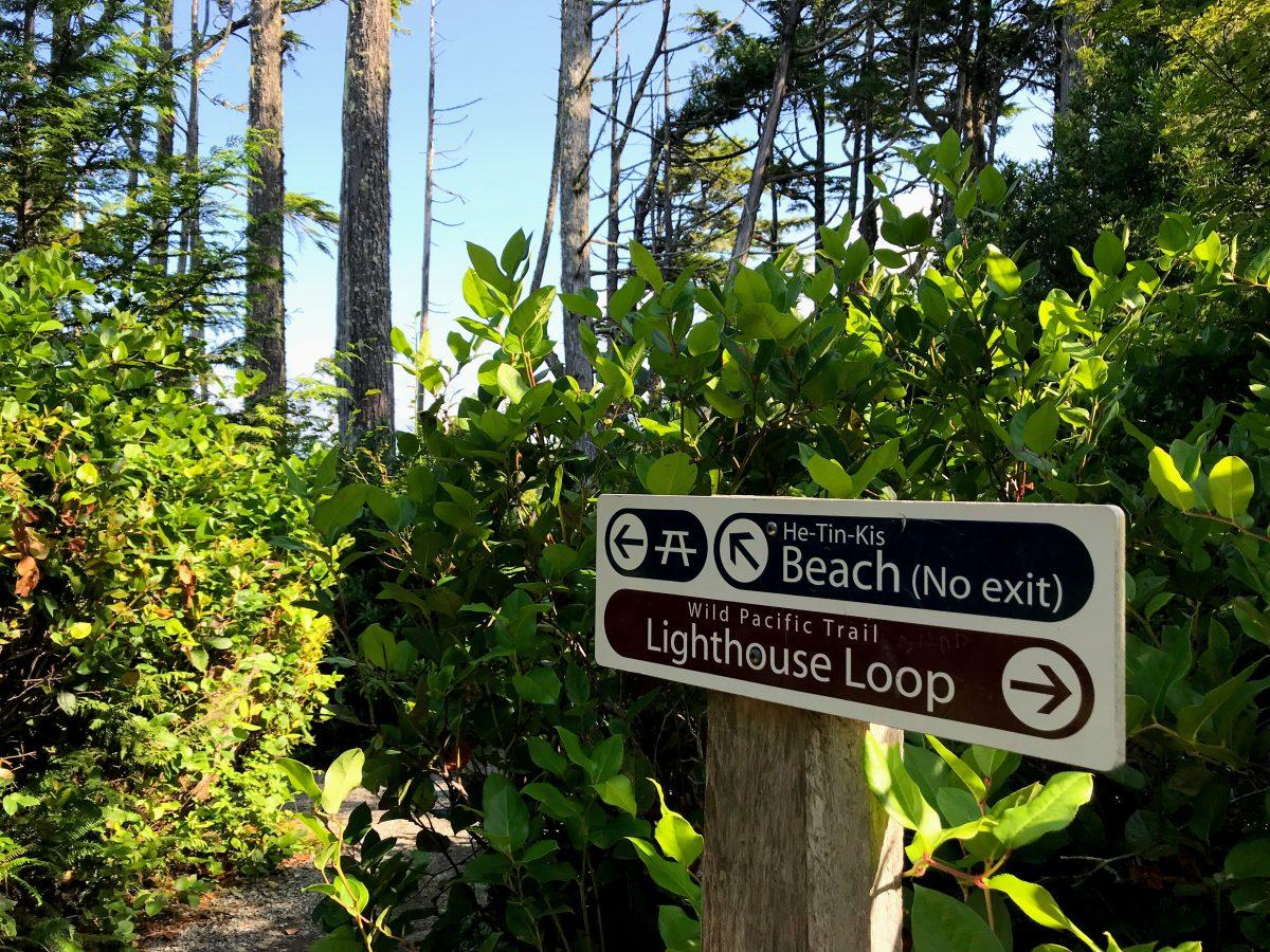 Wegwijzer Wild Pacific Trail