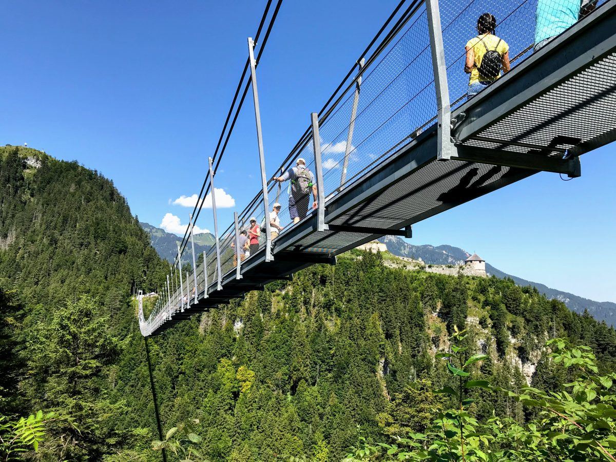 Hangbruggen in Oostenrijk - Highline 179
