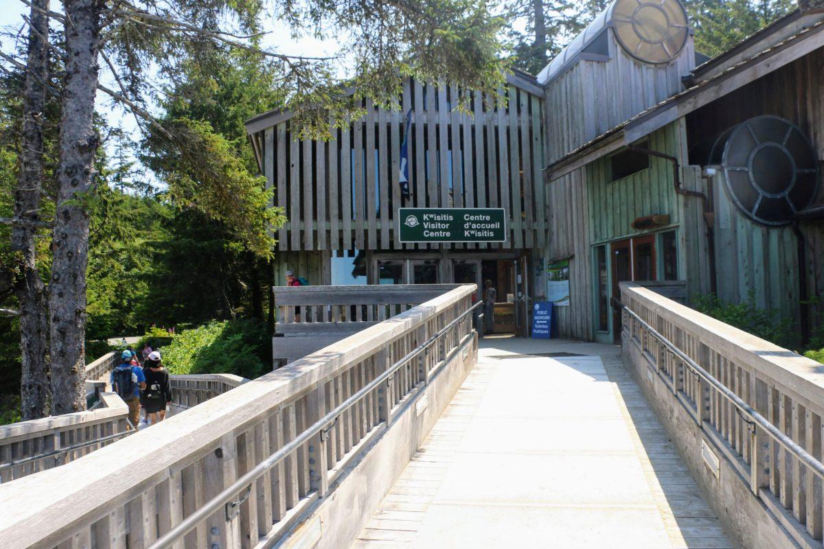 Ingang Kwisitis Visitor Centre Ucluelet