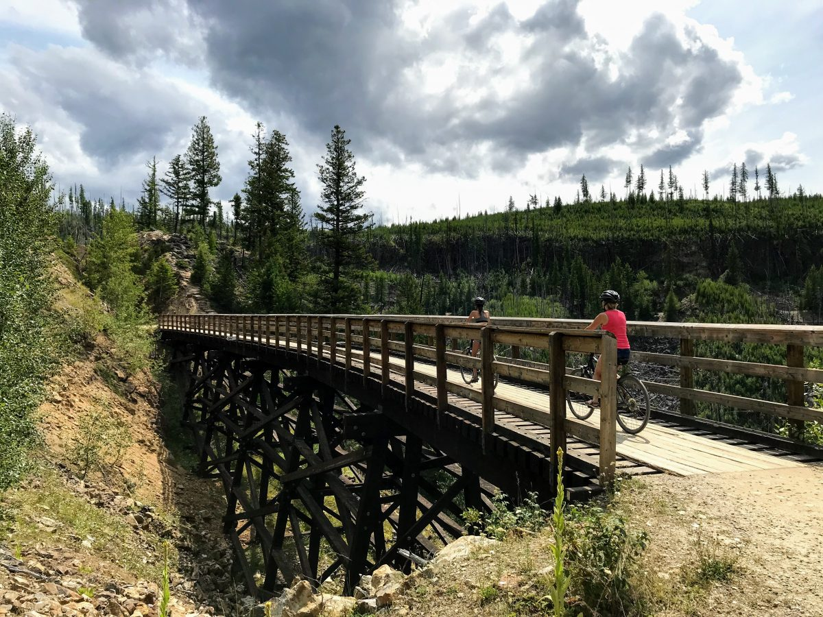 Kettle Valley Rail Trail, Kelowna, BC V0H 1N0, Canada