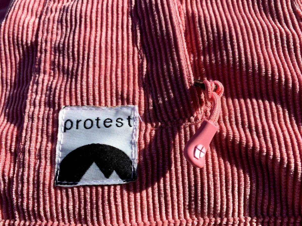 Protest dames ski-jas Cutie roze