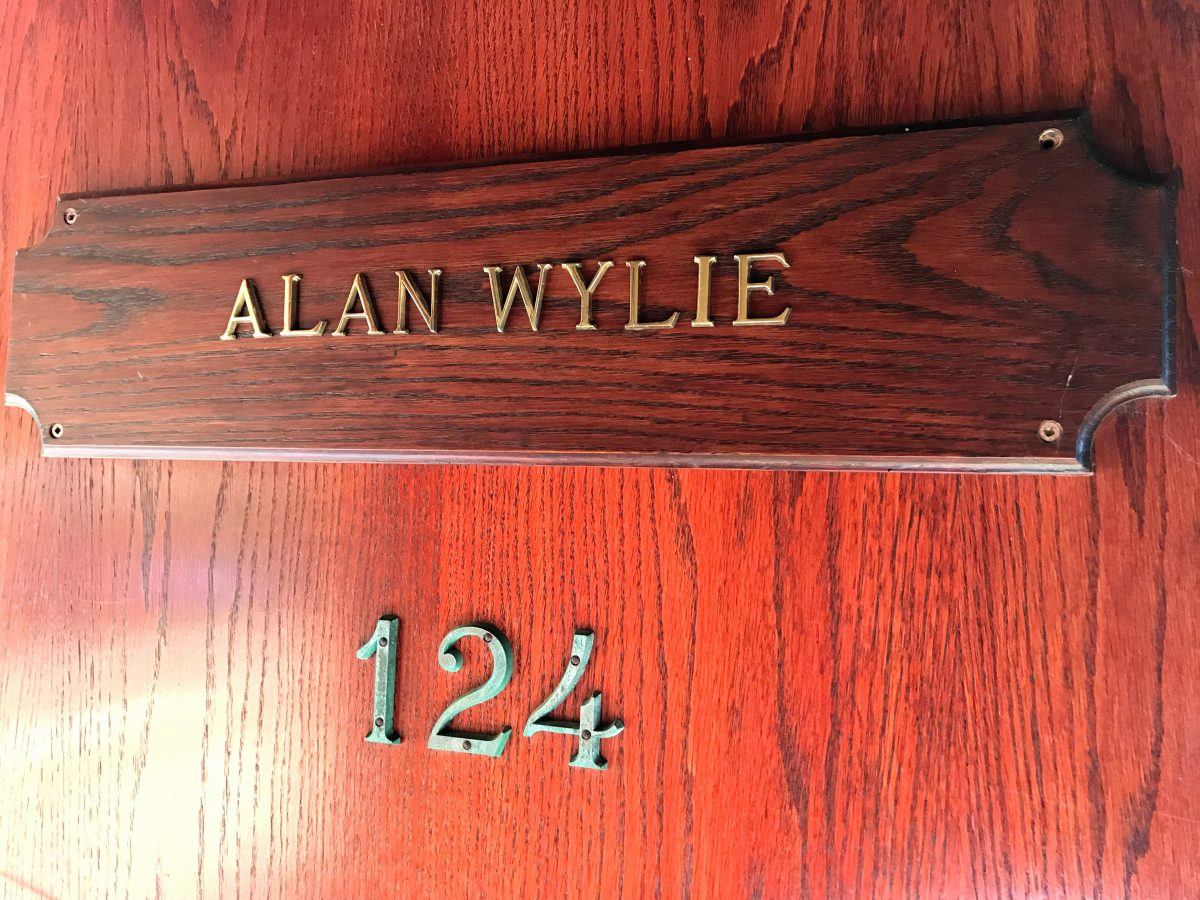 Painters Lodge - room 124 Alan Wylie