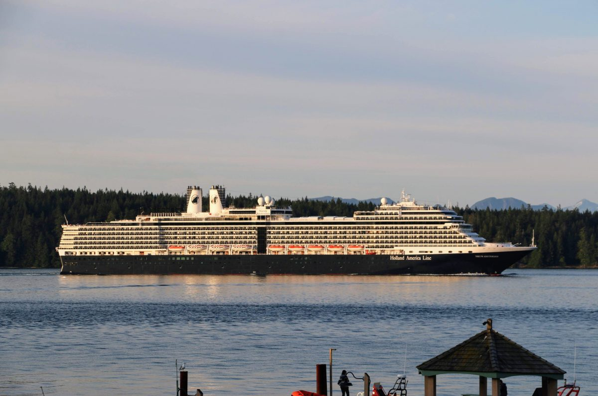 Holland America Line Vancouver Island Inside Passage
